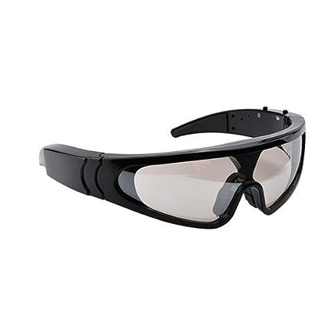 HMJZ Vista De Esquí Gafas De Cámara Inteligentes 1080P HD Fotografía  Deportes UV400 Gafa De Sol 3f77e1b523cc