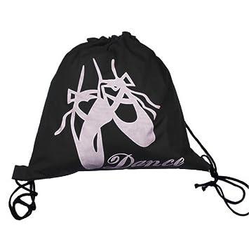 Black Temptation Bolsos de Ballet para Niños Bolsas de Baile Mochila de Viaje Mochilas Escolares Mochilas para Niñas Negras: Amazon.es: Deportes y aire ...