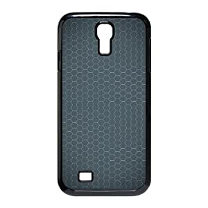 3D Okaycosama Funny Samsung Galaxy S4 Case Simple 187 Protective Cute for Girls, Case for Samsung Galaxy S4 I9500, [Black]