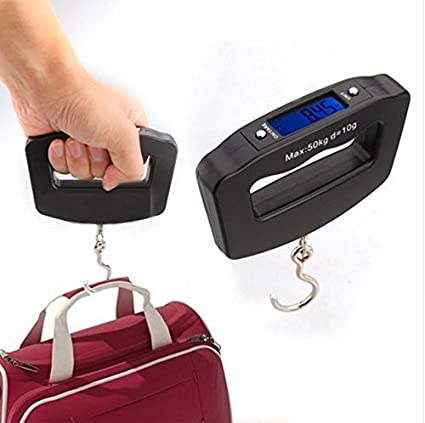 8b84cf9cfd1e gloednApple Mini Pocket Portable 50kg/10g LCD Digital Fish Hanging Luggage  Weight Hook Scale