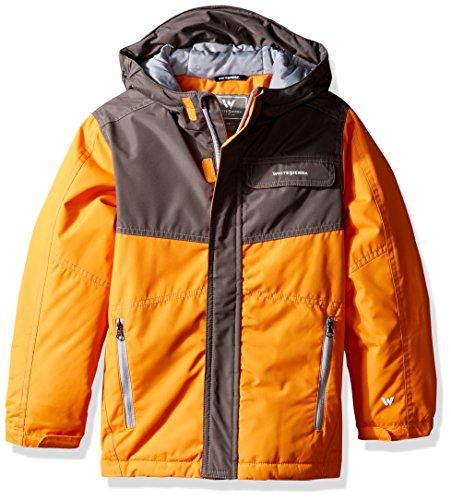 - White Sierra Youth Boys Casper Insulated Jacket, Orange Pepper, X-Small