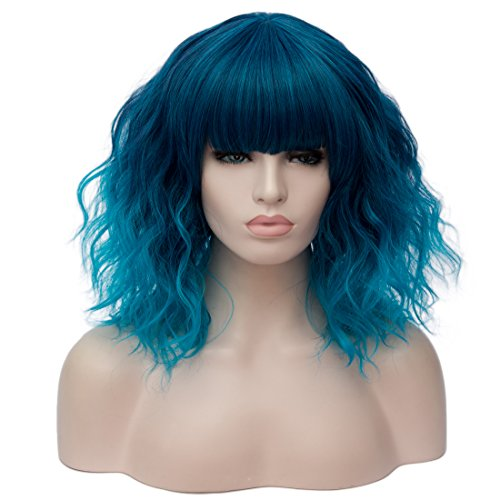 OneUstar Curly Inches Cosplay Synthetic
