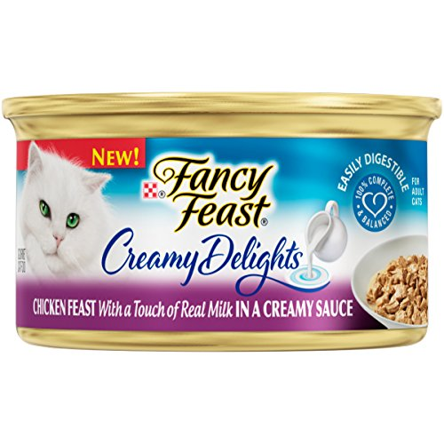 Purina Fancy Feast Creamy Delights Chicken Feast with a T...