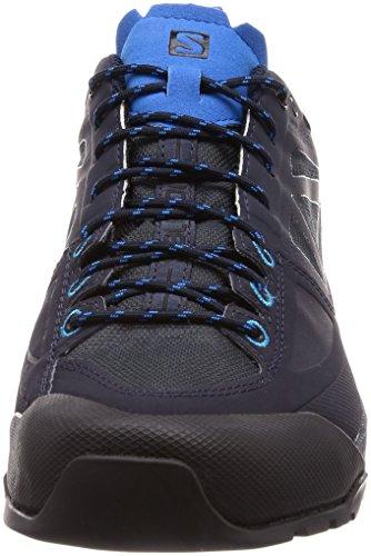 Salomon X Alp Spry GTX, Stivali da Escursionismo Uomo Blu (Night Sky/Graphite/Indigo Bunting 000)