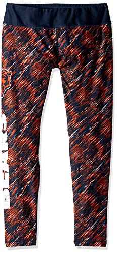 FOCO NFL Chicago Bears Womens Static Rain Leggingsstatic Rain Leggings, Team Color, -