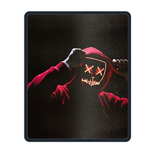 Gaming Mouse Pad Custom, Halloween Costume Mousepad Stitched Edge Non-Slip Rubber 11.8 x 9.8 inch]()