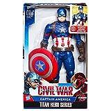 Hasbro Avengers B6176100 - Elektronischer Titan Hero Captain America, Actionfigur