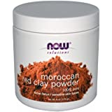 NOW Foods Solutions Moroccan Red Clay Powder -- 6 oz