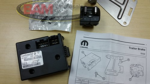 2013 DODGE RAM NEW INTEGRATED TRAILER BRAKE CONTROLLER MOPAR FACTORY OEM by Mopar