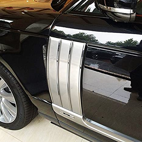 SAREMAS 2013 Style Side Vent for Land Rover Range Rover 2013-2020 2021 Hood Vents Side Grille mesh air Fender(HSE Vogue Autobiography)