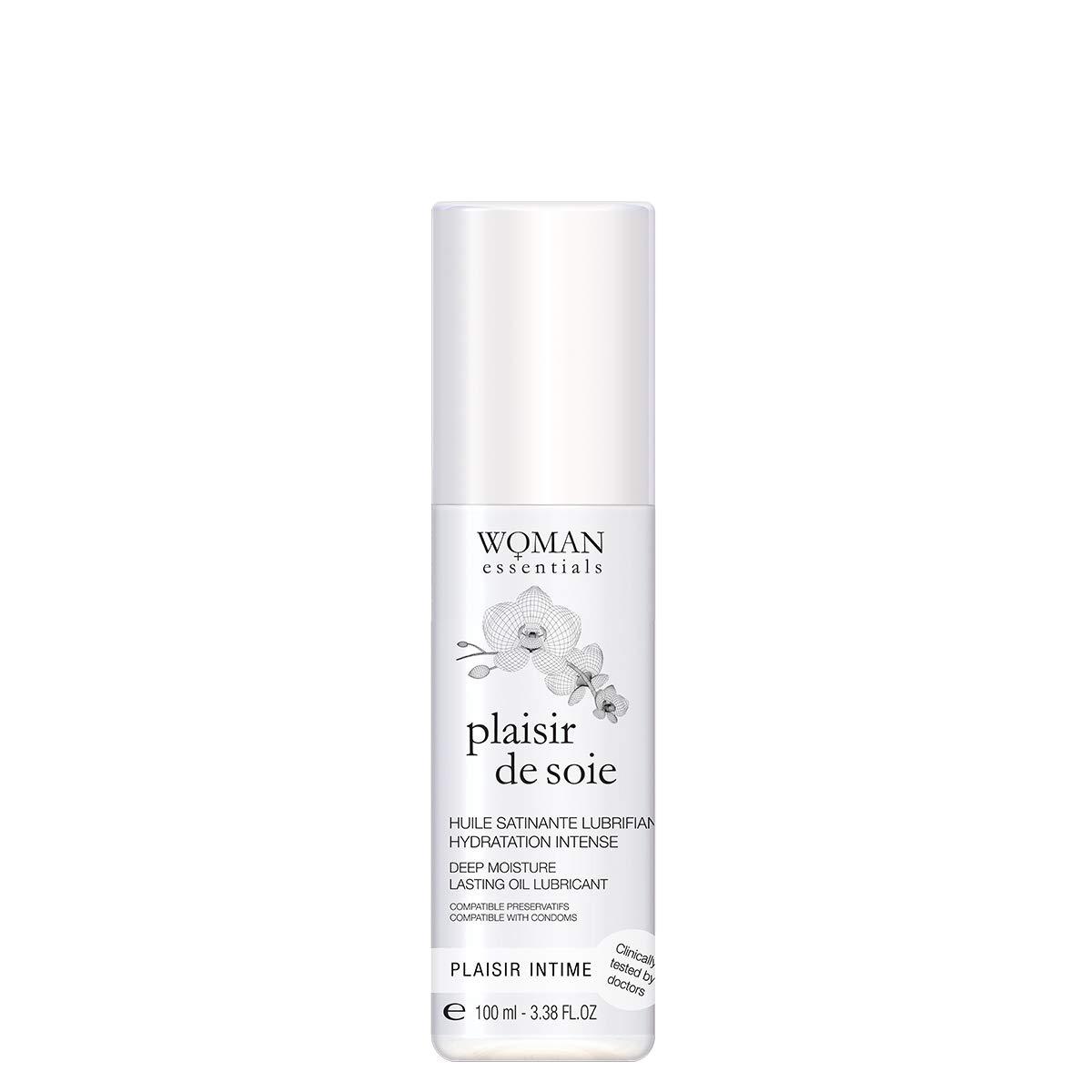 Woman Essentials - PLAISIR DE SOIE - Deep Moisture Lasting Massage Oil and Intimate Lubricant (100ml)