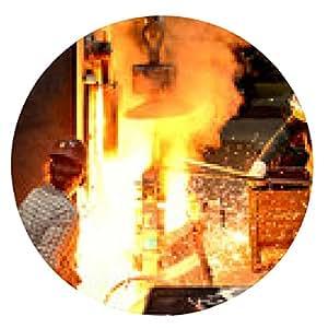 alfombrilla de ratón Industriearbeiter GIESSEREI // empleados de la industria de la fundición - ronda - 20cm