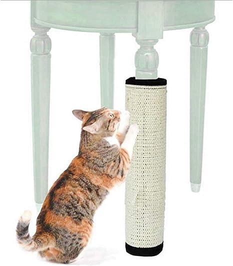 fushida - Esterilla de sisal para Gatos, rascador para Gatos ...