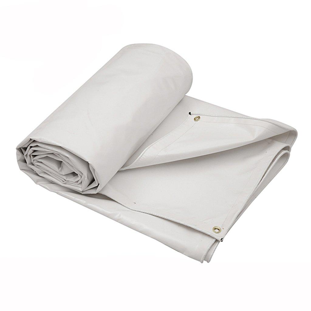 厚い防水布キャノピー布防水レインカバートラックの布サンプロテクションカバー (色 : 白, サイズ さいず : 3*3m) B07F581HKW 3*3m|白 白 3*3m