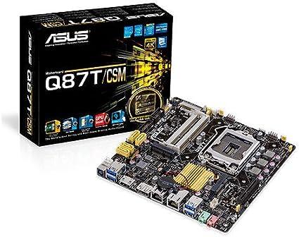 ASUS B85M CSM DDR3 1600 LGA 1150 Motherboard Mini ITX Q87T/CSM