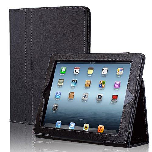TNP iPad Case Black Synthetic