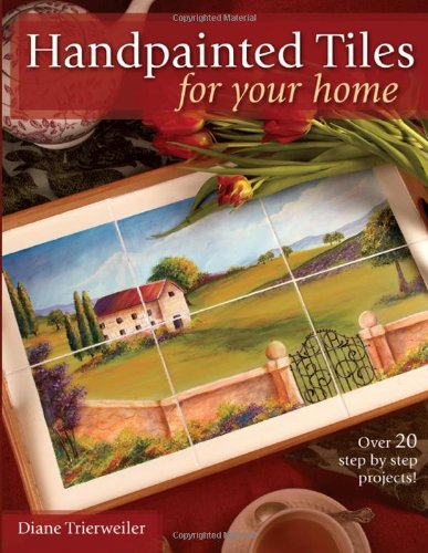 Handpainted Tiles Your Diane Trierweiler