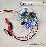 Dingdong Store Voltage Adjustable Regulator Module Electronic DIY Kits LM317 1.25V-12V DC 220V Power Supply Module Production for Practice Teaching (1.25-14.5V)