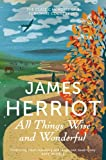 All Things Wise and Wonderful by James Herriot front cover
