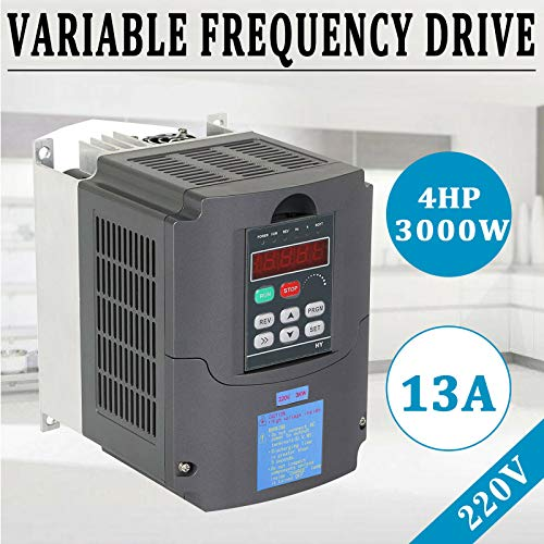 Dean Rodriguez 3KW 4HP 13A 220VAC Single Phase Variable Frequency Drive Inverter VSD VFD
