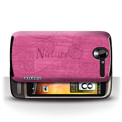 Etui / Coque pour HTC Desire G7 / Rose conception / Collection de Motif Nature