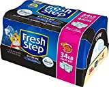 Fresh Step Extreme Scented Litter with the Power of Febreze, Clumping Cat Litter, 34 Pounds
