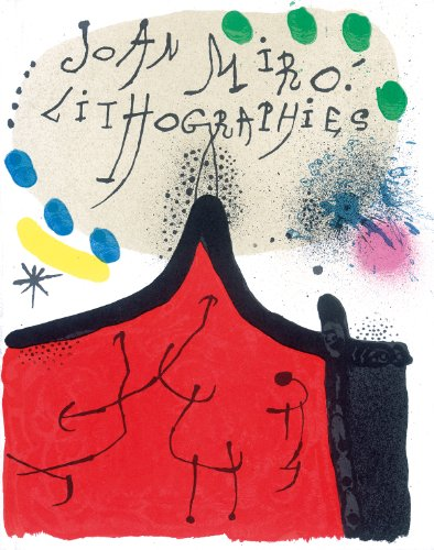 Miró Lithographs: Vol. I: 1930-1952 (1930 Lithograph)