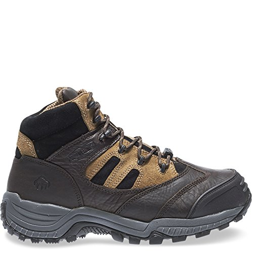 - Wolverine Kingmont Slip Resistant Composite-Toe Work Boot Men 6 Dark Brown/Light Brown