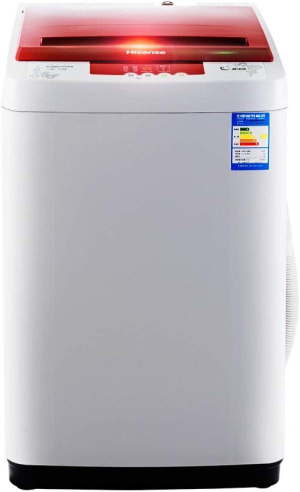 Waschmaschine Lavadora de 6 kg automática, 8 lavaderos Grandes, Programa de Limpieza, una pequeña Llave, deshidratación de 6 kg, Lavado [frecuente] Crecimiento pequeño