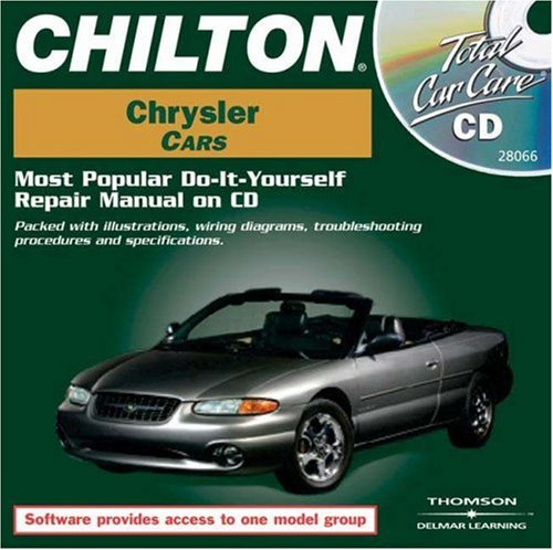 Total Car Care CD-ROM: Chrysler Cars, 1981-1999 Jewel Case