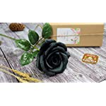 Black-Paper-Rose-Perfect-Anniversary-Paper-Gift-Handmade-Art-Realistic-Artificial-Roses-Unique-Gift-For-Her-Single-Long-Stem-01-Flower