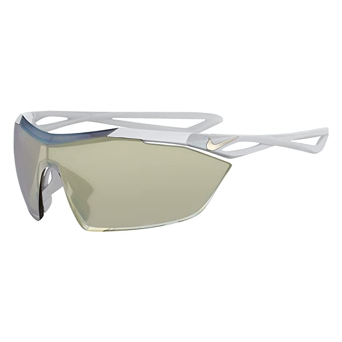 a6fdaa45541e Amazon.com: Nike EV0913-011 Vaporwing Elite R Sunglasses (Frame Speed Tint  with ML Extra White Lens), Black/White: Sports & Outdoors