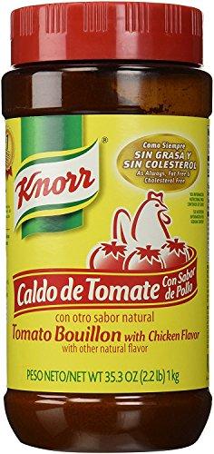 1 X Knorr Caldo De Tomate - Tomato Bouillon 35.3oz/2.2Lb Bottle Product From Mexico (Chicken Tomato)