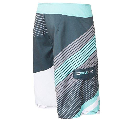 Billabong Mens Slice Boardshort Shorts, Grey, 32
