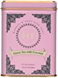Harney and Sons Fine Teas, Green Tea coconut, 20 tea sachets 1.4 oz/ 40 grams