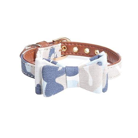 colinsa Collar de Mascota para Perros y Gatos, Serie de Camuflaje Collar para Mascotas de