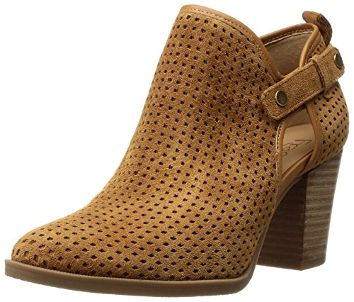 Franco Sarto Womens Dakota Ankle Boot Cuoio