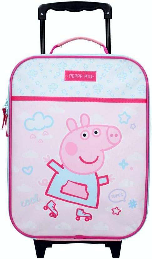 Peppa Pig Trolley | Peppa Roll with me | 40 x 30 x 14 cm Estuche de Viaje: Amazon.es: Juguetes y juegos
