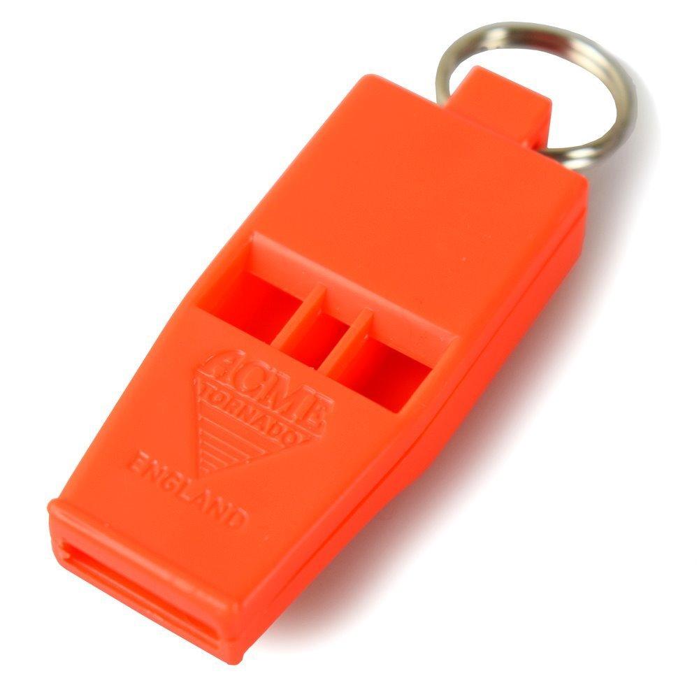 Acme Tornado Slimeline Whistle 636 Orange