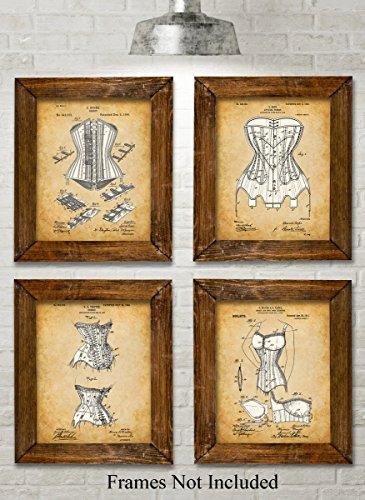 Original Corsets Patent Art Prints product image