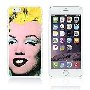 OBiDi - Celebrity Star Hard Back Case for Apple iPhone 6 Plus (5.5 inch) Smartphone - Marilyn Monroe ArtWork