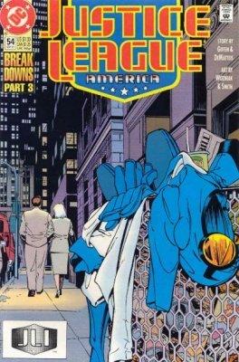 Justice League America Issue 54 Break Down Part Three (Sept 91) [Comic] (America 91 League Justice)