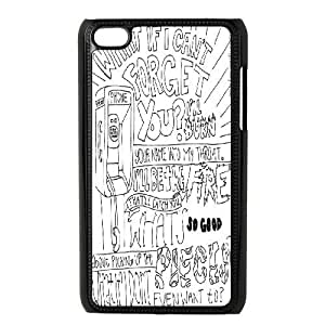 Personalized Pierce The Veil Ipod Touch 4 Phone Case, Pierce The Veil Custom Durable Back Phone Case for iPod Touch4 at Lzzcase