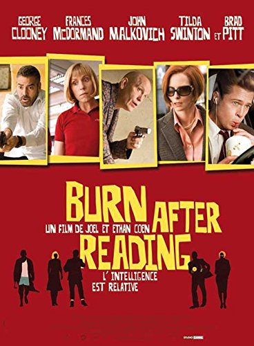 Image result for Burn After Reading movie poster