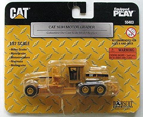 CAT 163H Motor Grader 1:87 Scale - Cat Motor Grader