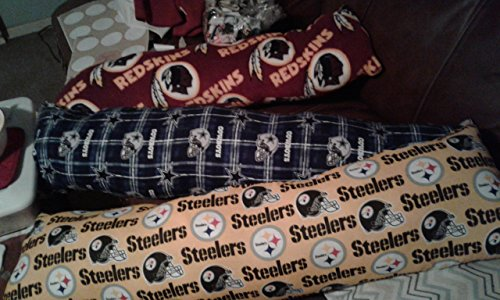 Swift run crafts NFL Fleece steelers body pillow (large) ()
