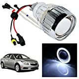 Vheelocityin White Ring Projector / Headlight / Headlamp For Chevrolet Cruze