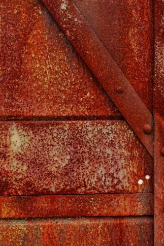 - An Iron Door Rusted Red Journal: Take Notes, Write Down Memories in this 150 Page Lined Journal