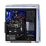 [GAMERS CHOICE] SkyTech Archangel II Gaming Computer Desktop PC AMD Ryzen 5 1400,GTX 1060 3GB, 1TB HDD,16 GB DDR4, WINDOWS 10 Home