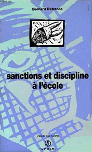 En ligne téléchargement SANCTIONS ET DISCIPLINES A L'ECOLE epub pdf